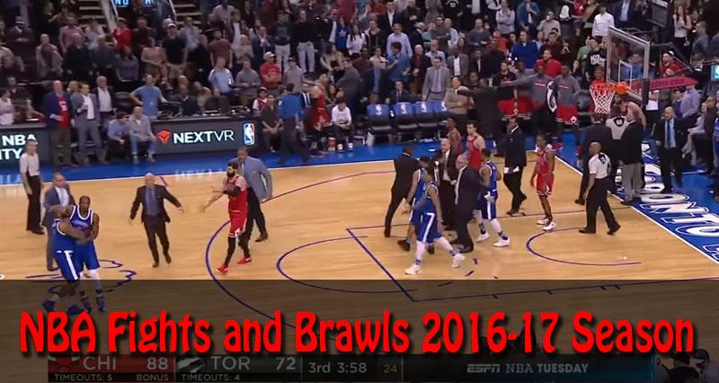 NBA Fights and Brawls 2016-17 Season